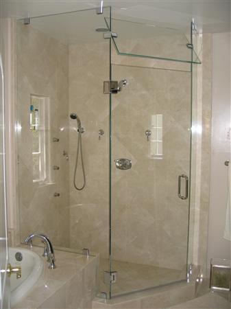 Cabin tắm kính. Hình 4
